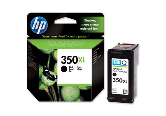HP Tinte 350XL - schwarz (CB336EE) 1'000 Seiten
