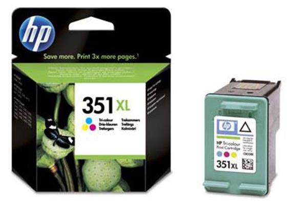 HP Tinte 351XL - farbig (CB338EE) 580 Seiten