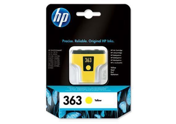 HP Tinte 363 - gelb (C8773EE) 6ml