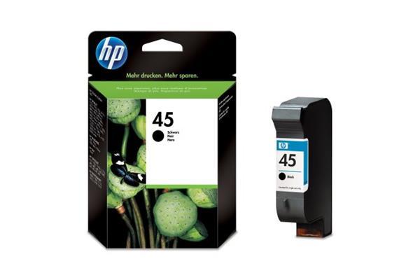 HP Tinte 45 - schwarz (51645AE) 830 Seiten