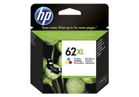 HP Tinte 62XL - color (C2P07AE) 415 Seiten