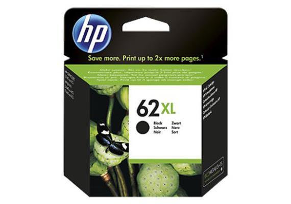 HP Tinte 62XL - Schwarz (C2P05AE) 600 Seiten