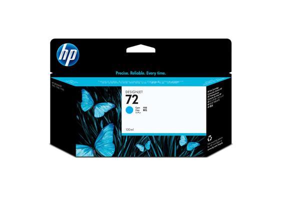 HP Tinte 72 - Cyan (C9371A) 130 ml