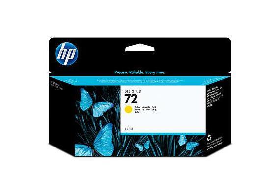 HP Tinte 72 - Gelb (C9373A) 130 ml
