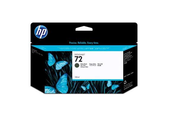 HP Tinte 72 - mattschwarz (C9403A) 130 ml