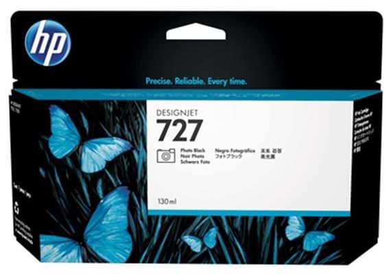HP Tinte 727 - schwarz Foto (B3P23A) 130ml