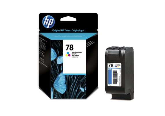 HP Tinte 78 - dreifarbig (C6578D) 19 ml
