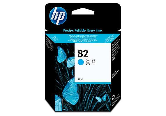 HP Tinte 82 - cyan (C4911A) 69 ml