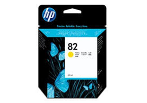 HP Tinte 82 - Gelb (C4913A) 69 ml