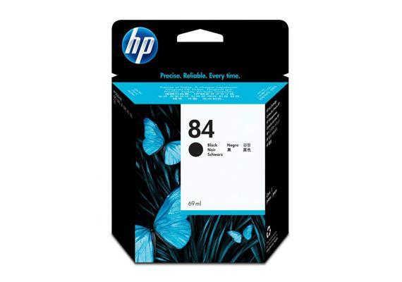 HP Tinte 84 - Schwarz (C5016A) 69ml