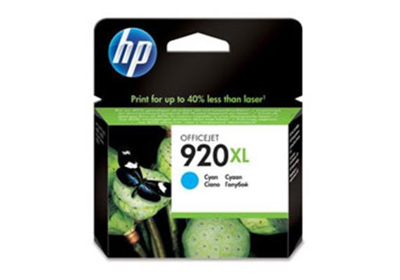 HP Tinte 920XL - cyan (CD974AE) 700 Seiten