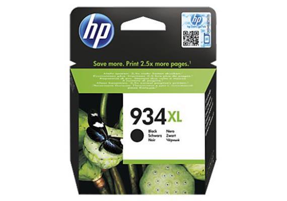 HP Tinte 934XL - schwarz (C2P23AE) 1'000 Seiten