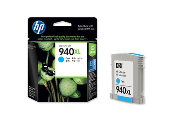 HP Tinte 940XL - cyan (C4907AE) 1'400 Seiten