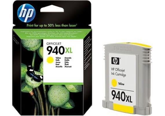 HP Tinte 940XL - gelb (C4909AE) 1'400 Seiten