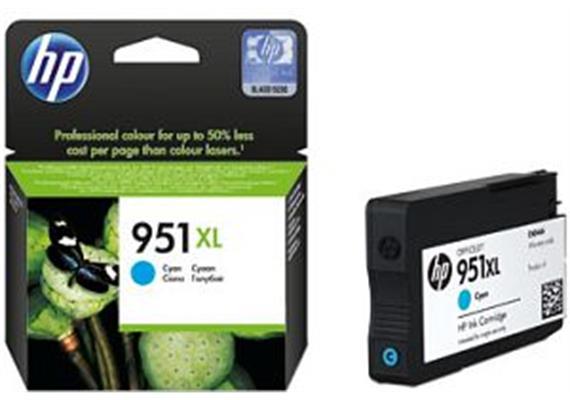 HP Tinte 951XL - cyan (CN046AE) 1'500 Seiten