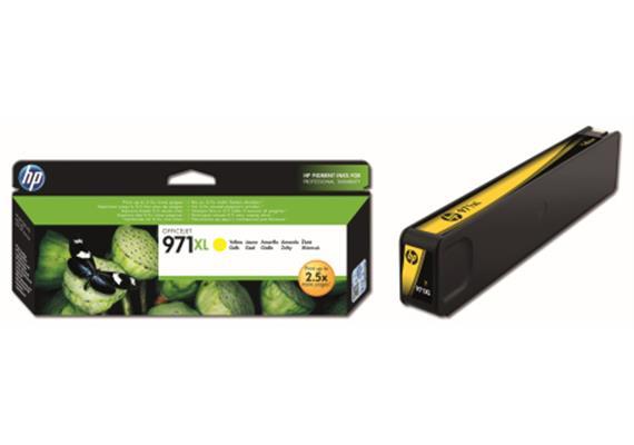 HP Tinte 971XL - Gelb (CN628AE) 6'600 Seiten