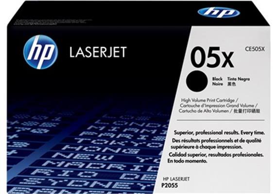 HP Toner 05X - schwarz (CE505X) 6'500 Seiten