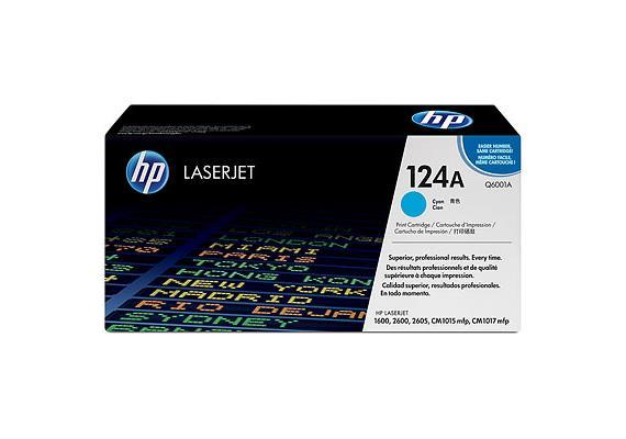 HP Toner 124A - cyan (Q6001A)