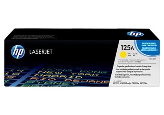 HP Toner 125A - gelb (CB542A) 1'400 Seiten