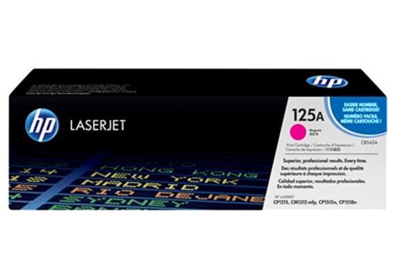 HP Toner 125A - magenta (CB543A) 1'400 Seiten