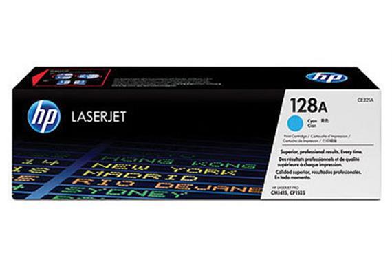 HP Toner 128A - cyan (CE321A) 1'300 Seiten