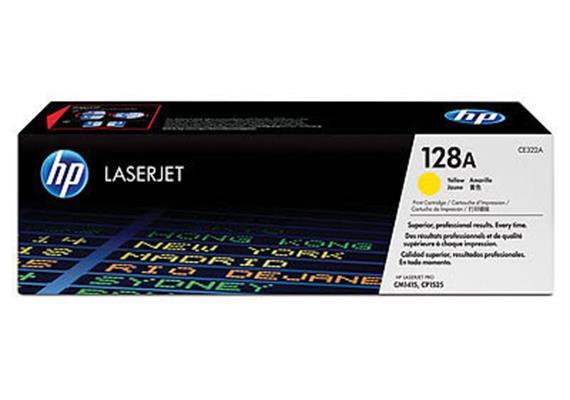 HP Toner 128A - gelb (CE322A) 1'300 Seiten