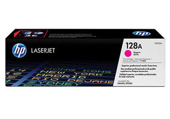 HP Toner 128A - magenta (CE323A) 1'300 Seiten