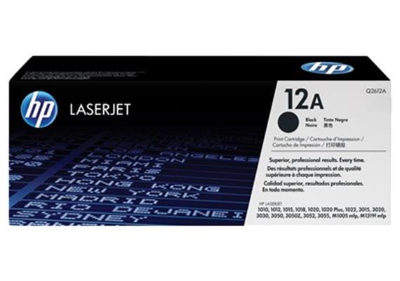 HP Toner 12A - schwarz (Q2612A) 2'000 Seiten