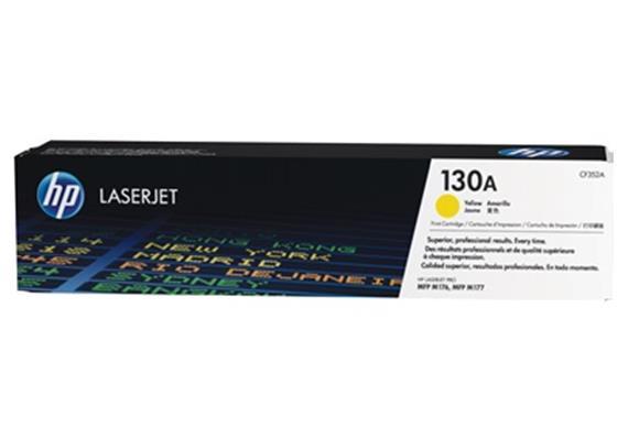 HP Toner 130A - gelb (CF352A) 1'000 Seiten