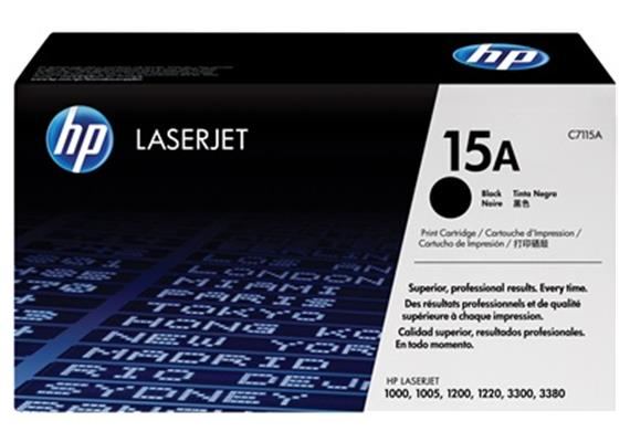 HP Toner 15A - schwarz (C7115A)