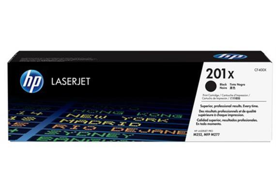 HP Toner 201X - schwarz (CF400X) 2'800 Seiten