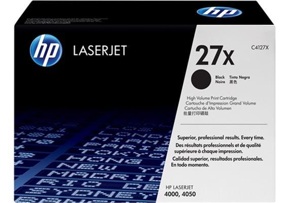 HP Toner 27X - schwarz (C4127X)