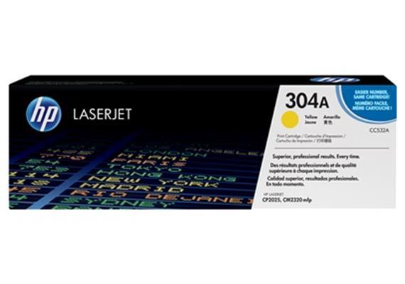 HP Toner 304A - gelb (CC532A) 2'800 Seiten