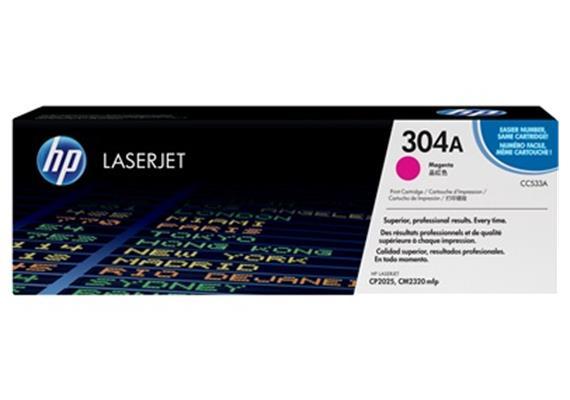 HP Toner 304A - magenta (CC533A) 2'800 Seiten