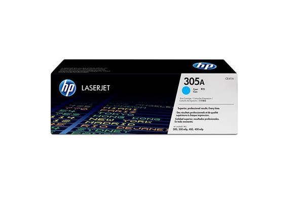 HP Toner 305A - cyan (CE411A) 2'600 Seiten