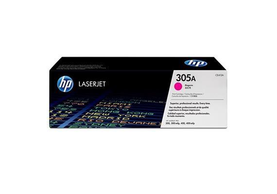 HP Toner 305A - magenta (CE413A) 2'600 Seiten
