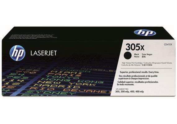 HP Toner 305X - schwarz (CE410XD) 2er-Pack 2 x 4'000 Seiten