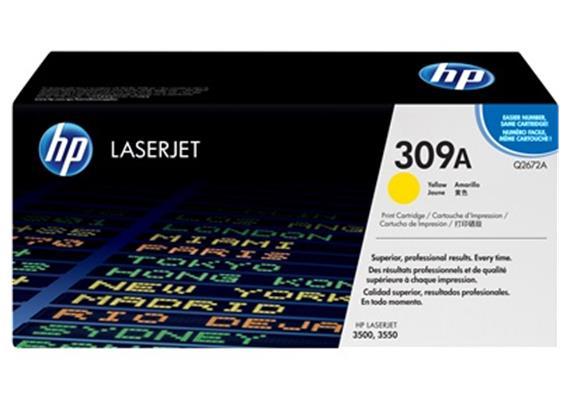 HP Toner 309A - gelb (Q2672A)