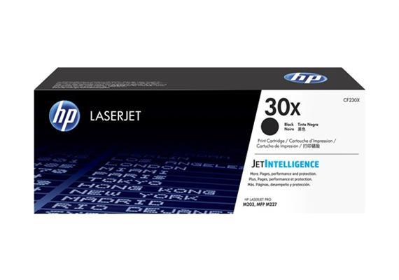 HP Toner 30X - schwarz (CF230X) 3'500 Seiten