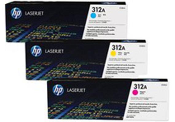 HP Toner 312A - CMY (CF440AM) je 2'700 Seiten