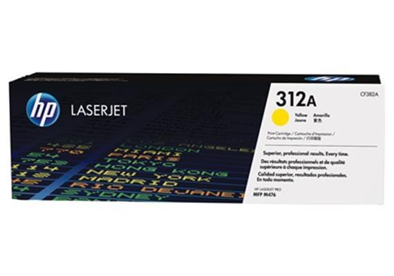 HP Toner 312A - gelb (CF382A) 2'700 Seiten