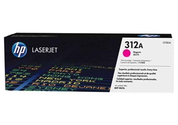 HP Toner 312A - magenta (CF383A) 2'700 Seiten