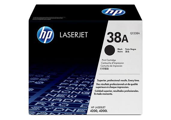 HP Toner 38A - schwarz (Q1338A) 12'000 Seiten
