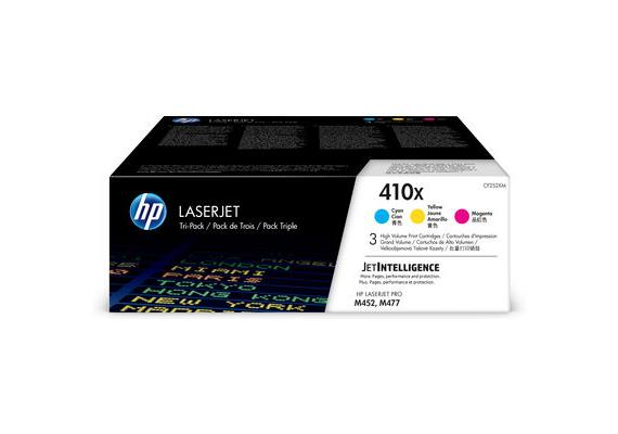HP Toner 410X - CMY (CF252XM) Tri-Pack, je 5'000 Seiten