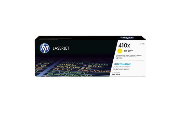 HP Toner 410X - gelb (CF412X) 5'000 Seiten