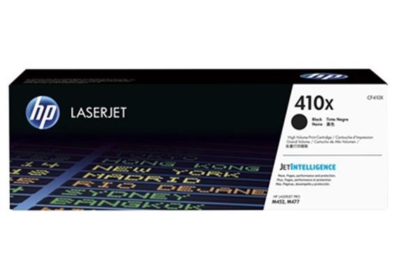 HP Toner 410X - schwarz (CF410X) 6'500 Seiten
