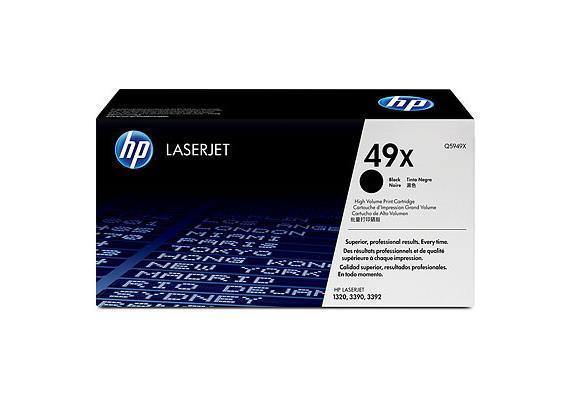 HP Toner 49X - schwarz (Q5949X) 6'000 Seiten