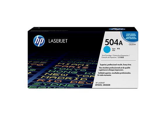 HP Toner 504A - cyan (CE251A) 7'000 Seiten