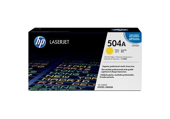 HP Toner 504A - gelb (CE252A) 7'000 Seiten