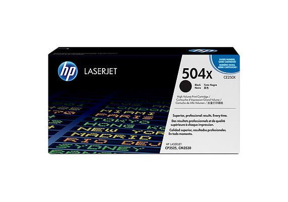 HP Toner 504X - schwarz (CE250X) 10'000 Seiten